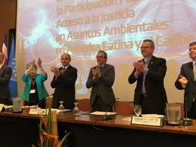 Public participation, a new regional agreement twenty years after Aarhus: The Escazú Convention