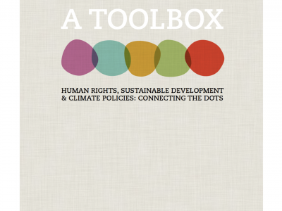 A TOOLBOX: Human rights, Sustaineble development & Climate Policies: Connecting the dots