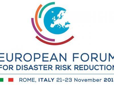 (Français) Adoption de la Déclaration de Rome par le Forum européen pour la réduction des risques de catastrophe de 2018