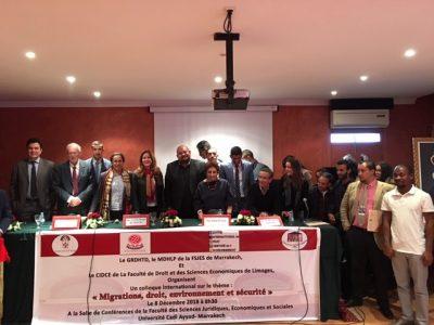 Les Déplacés Environnementaux Apres le Pacte Mondial pour des Migrations Sures, Ordonnées et Régulières Adopte à Marrakech Le 10 décembre 2018