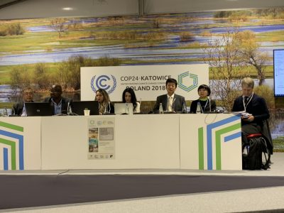 "CIDCE at COP24 on Climate Change: ""Environmental Migration: Ghost Migration"""